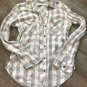 A&F Plaid Shirt